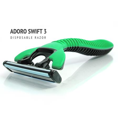 [:bd]ADORO SWIFT 3 SHAVING RAZOR [:]