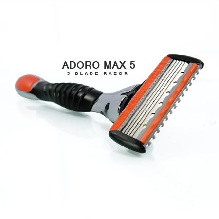 [:bd]ADORO MAX 5 SHAVING RAZOR[:]