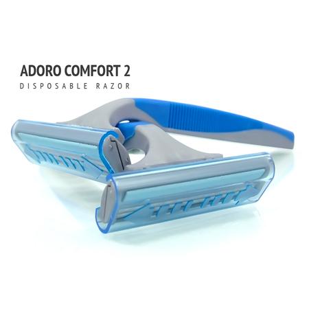 [:bd]ADORO COMFORT 2 SHAVING RAZOR[:]