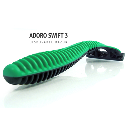 [:bd]ADORO SWIFT 3 SHAVING RAZOR [:]
