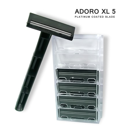 [:bd]ADORO XL-5 SYSTEM RAZOR (HANDLE + CARTRIDGE)[:]