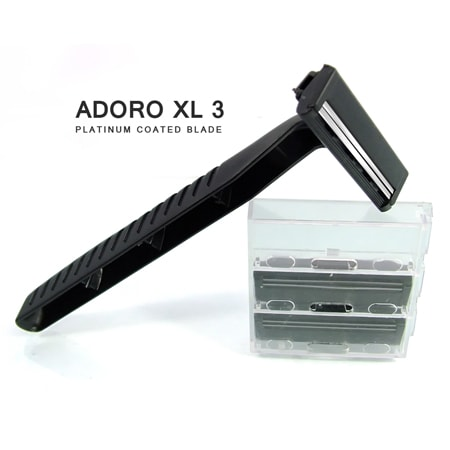 [:bd]ADORO XL-3 SYSTEM RAZOR (HANDLE + CARTRIDGE)[:]