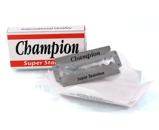 [:bd]Champion Super Stainless Double Edge Blade[:]